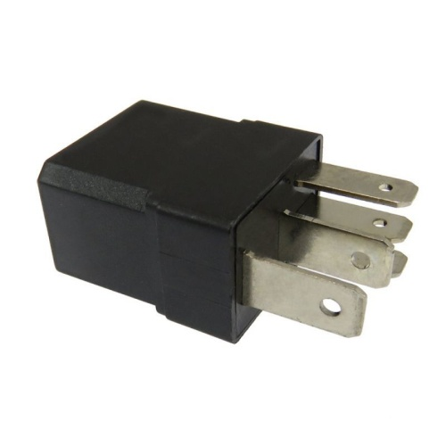 Mini Relay Aux. Mod. Universal 12V- 5 Pins- 30A.