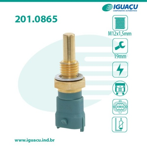 S.Temp.VW 8.150/9.150,Worker 15.180,Euro 3-05>,VW Constellation 26.260,Buses 15-180 M12x1,5mm/19mm
