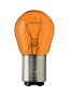 FOCO GUIA 2 PTOS. NORMAL 12V-21/5 W. BAY 15dd (AMBER)