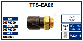 THERMO SWITCH GM. 105-100*C.