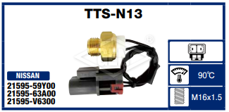 THERMO SWITCH NISSAN SENTRA B13. (VARIOS)